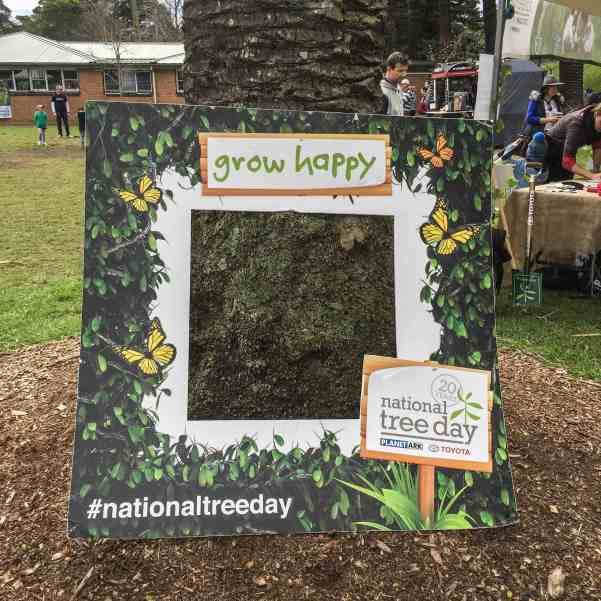 Planet Ark's National Tree Day 2016 at Jubilee Park Glebe. Celebrating 20 Years of planting trees.